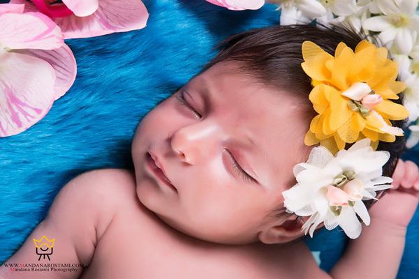 حالت خواب نوزاد