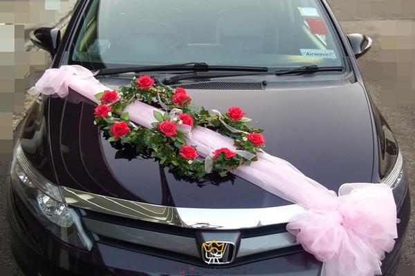 عکاسی از ماشین عروس