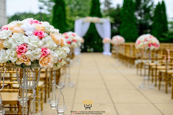 عکاسی از محل مراسم عروسی