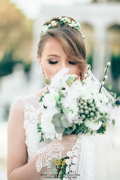 ژست های خاص عروس و داماد 2019