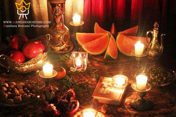 ایده های ویژه عکاسی در شب یلدا