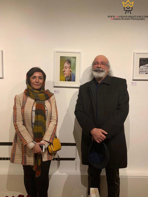 آقای مهندس صدیقی (عکاس آنالوگ) و خانم ماندانا رستمی