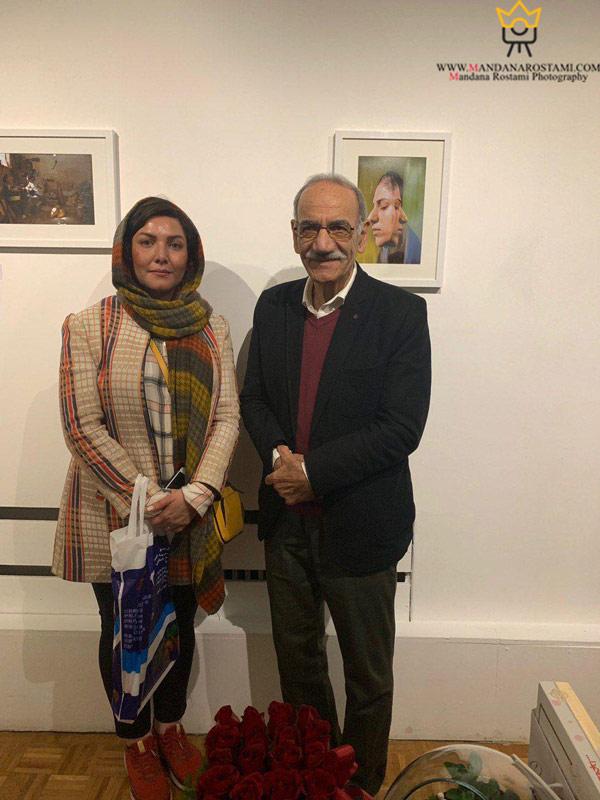 استاد علی قلمسیاه و خانم ماندانا رستمی