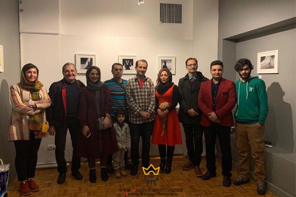 هنرمندان شرکت کننده در نمایشگاه عکس