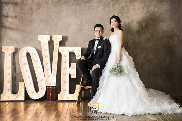 عکاسی عروسی در آتلیه