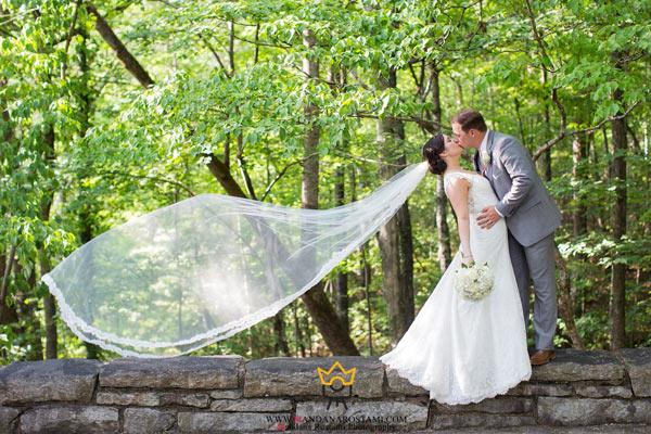 عکاسی عروسی در باغ