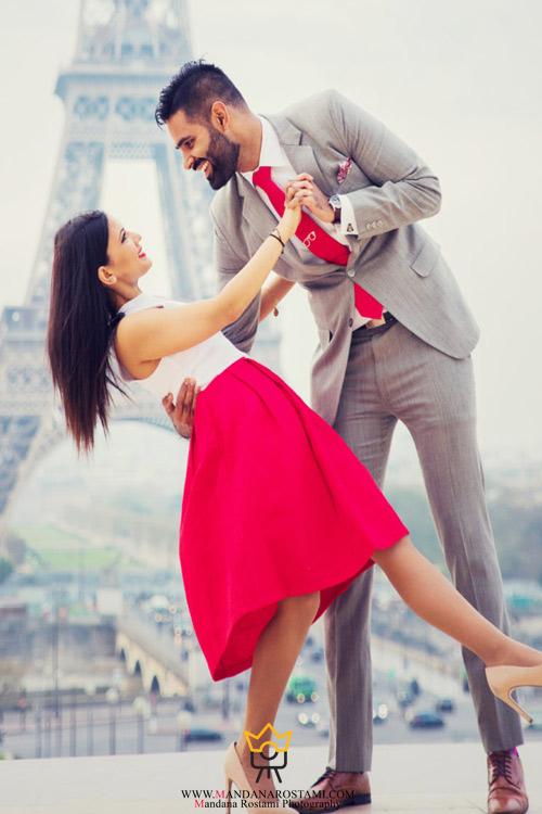 عکس اسپرت عروس و داماد با بهترین مدل ها