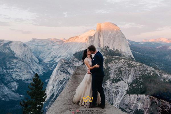 عکاسی عروس در فصل زمستان