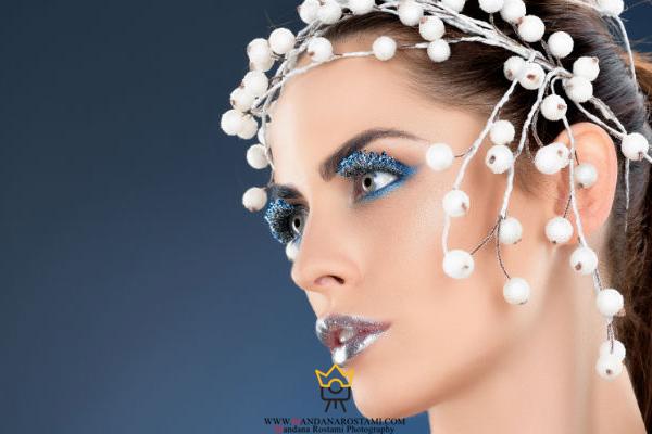 آرایش زمستانی عروس