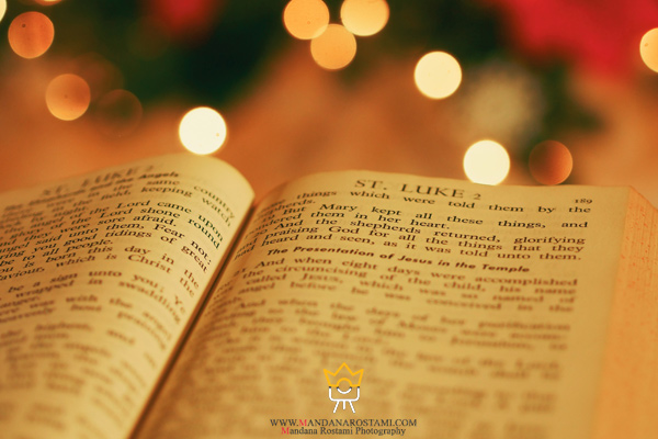 دعا خواندن در شب کریسمس