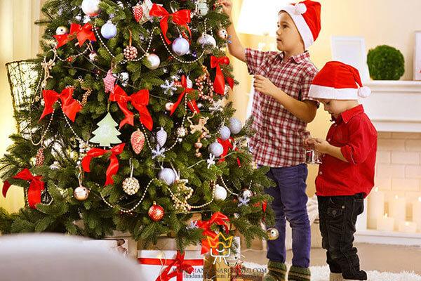 عکاسی کودک در کریسمس
