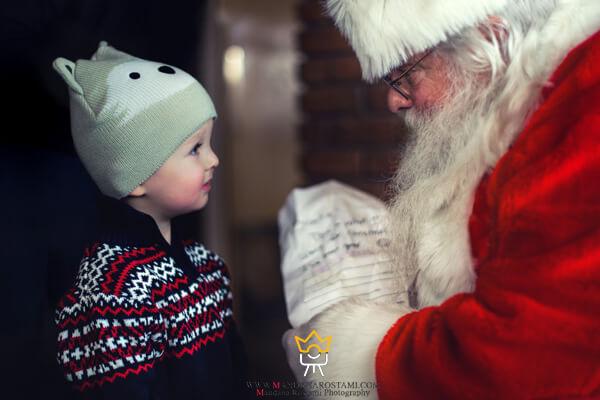 کادو گرفتن از بابانوئل