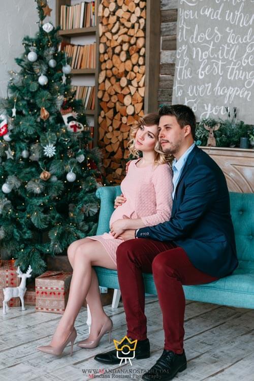 شب کریسمس و گرفتن عکس از روابط خانوادگی