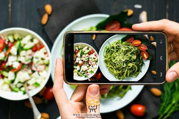 چگونه از غذا عکاسی کنیم؟