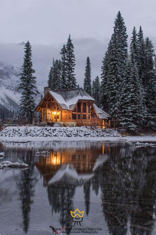 چگونه عکس زمستانی زیبا بگیریم