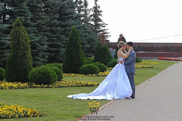 فیلم عروس و داماد در پارک