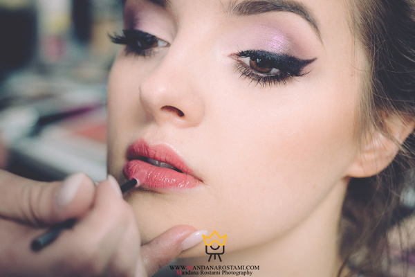 نکاتی درباره آرایش مناسب عکاسی عروس