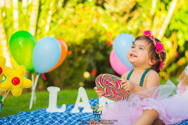 ایده های خلاقانه عکاسی تولد کودک