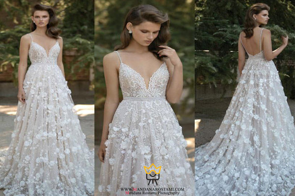 مدل لباس عروس پرنسس