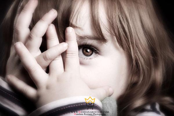 عکاسی از کودک خجالتی