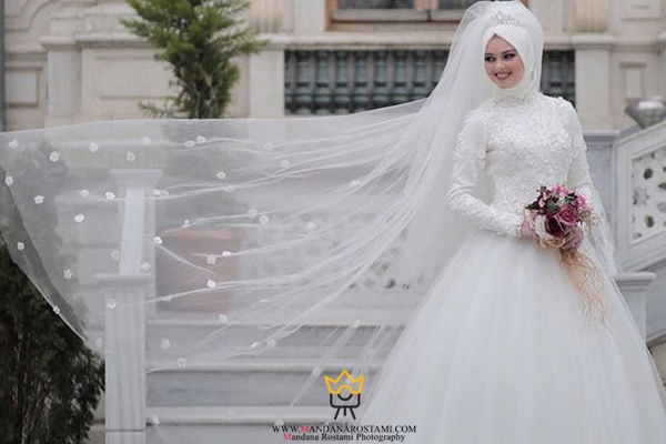 عکس عروس باحجاب ایرانی
