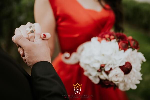 تنوع در عکس های روز عروسی