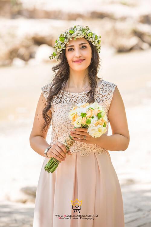 نمونه کار عکس اسپرت عروس و داماد