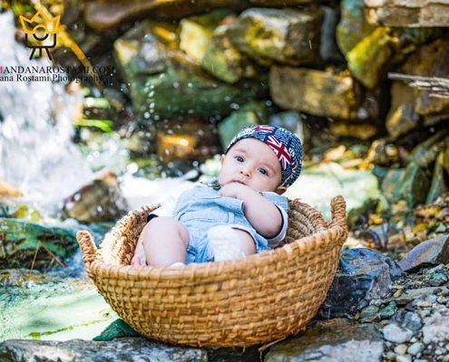 آتلیه نوزاد ماندانا رستمی