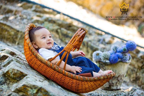 بهترین مکان برای عکاسی از نوزاد