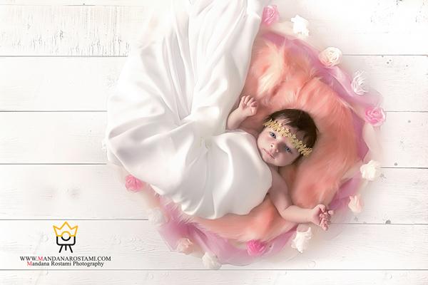 نمونه کارهای آتلیه نوزاد ماندانا رستمی