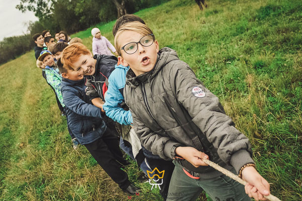 عکاسی از کودک در پارک