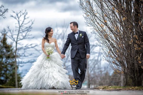 چند ژست عکس سر مجلسی عروس و داماد