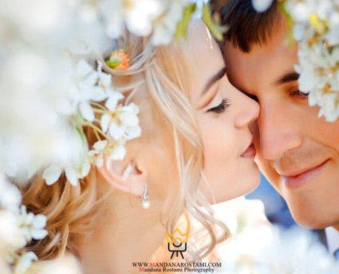 ژست عکس سر مجلسی عروس