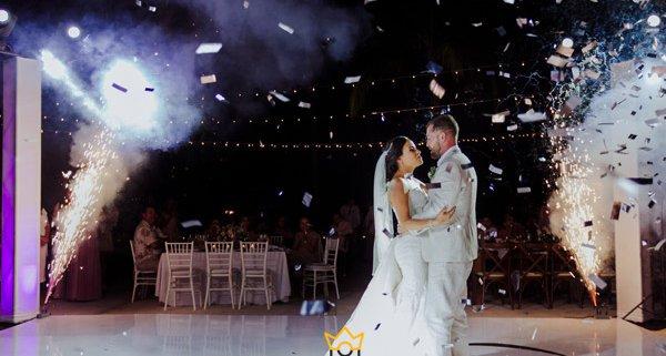 جدیدترین مدل عکس عروس و داماد در تالار