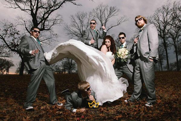 چند مدل عکس عروس و داماد در طبیعت