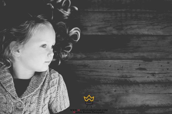 عکاسی در منزل با کودکان خجالتی