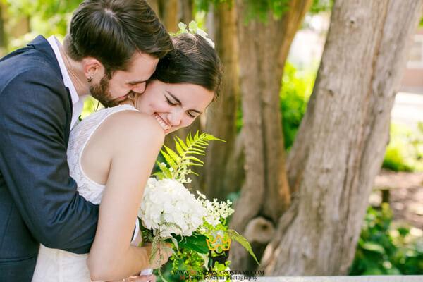 جدیدترین مدل عکس عروس و داماد در باغ