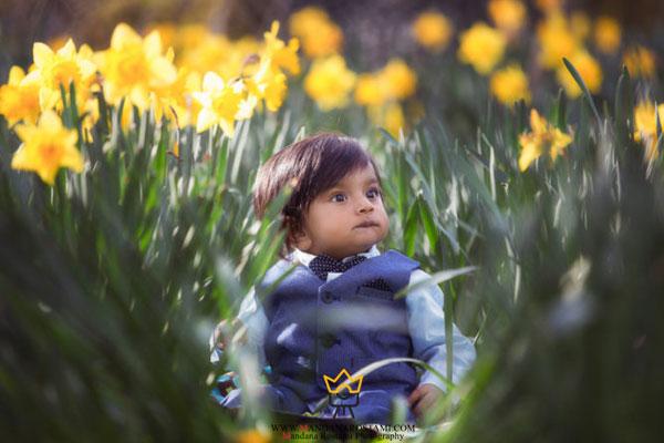 بهترین ایده عکاسی کودک در فضای باز