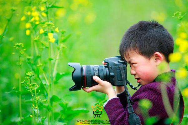 دلایل گرفتن عکس از کودک در فضای باز