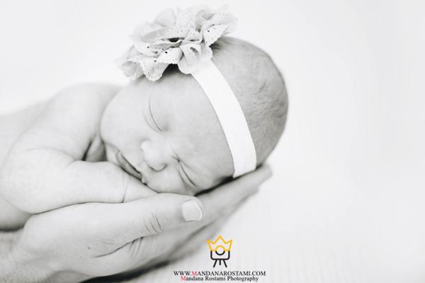 مدل عکس نوزاد تازه متولدشده