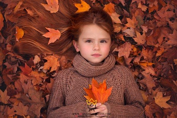 عکس کودک در طبیعت باید چگونه باشد؟