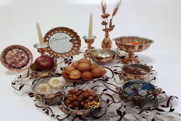تزئین سفره هفت سین عید نوروز