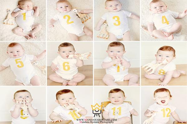 چرا عکس ماهگرد دختر و پسر برای والدین مهم است؟